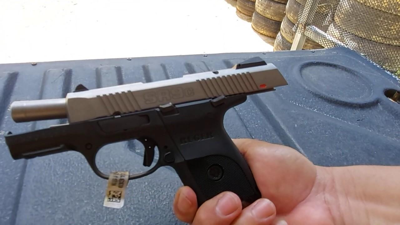 ทดสอบRUGER SR9c 9mm. ใหม่แกะกล่อง