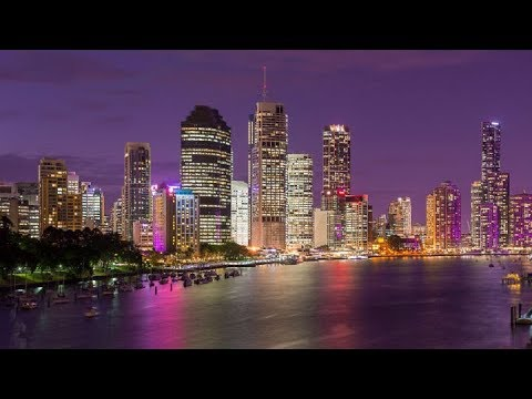BRISBANE RIVER - By Night 2018 Chilled