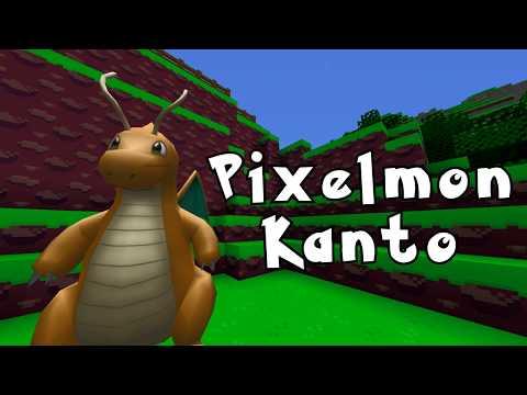 Pixelmon Kanto Series - Trailer (Pixelmon Minecraft Modded)