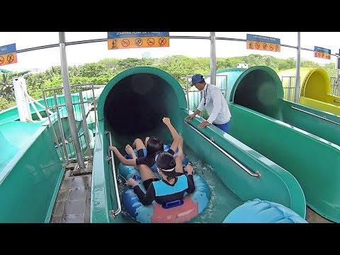 T' Three Water Slide at Waterbom Jakarta