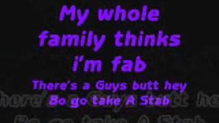 My Whole family Bo Burnham Lyrics