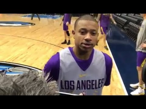 Isaiah Thomas talks to the media before his Lakers debut | ESPN