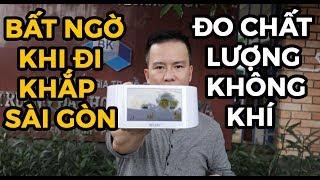 Test máy đo không khí AirVisual ở Sài Gòn và cái kết!