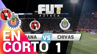Resumen Tijuana 1-1 Chivas - J14  Tormeno Clausura 2015