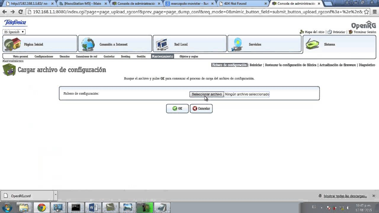 Configuracion Router Movistar Marcopolo - YouTube