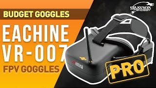 FPV Goggles | Eachine VR007 PRO Drone Racing Goggles | Best Budget FPV Goggles