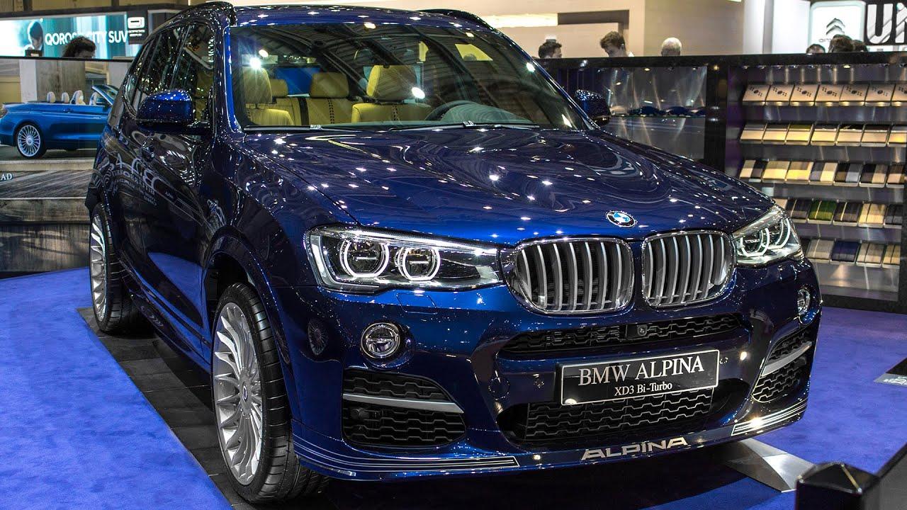 BMW ALPINA XD3 BITURBO - GENEVA MOTOR SHOW 2015 HQ - YouTube