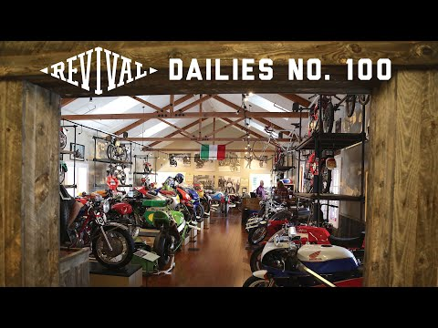 The Incredible Moto Talbott Motorcycle Museum Private Tour // Revival Cycles Daily 100!