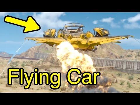 Final Fantasy XV: Flying Car Secrets (Regalia Type-F)