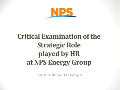 Critical Examination of the Strategic Role Played By HR at NPS Energy Group.mp4