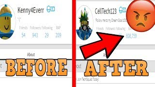EXPOSING A BIG TIME SCAMMER! LETS GET HIM BANNED! (ROBLOX)