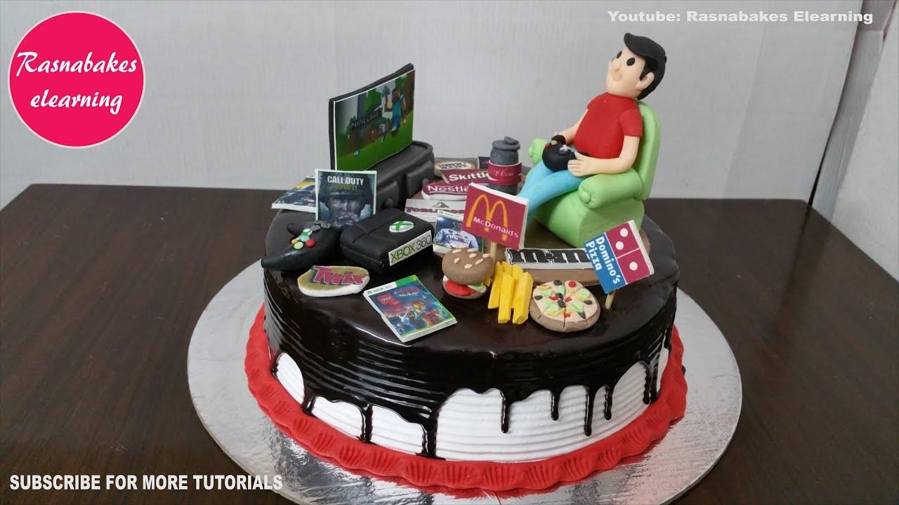 Easy Simple 13th 14th 15th 16 Year Old Teen Teenage Boy Girl Birthday Cake Design Ideas Decorating Youtube