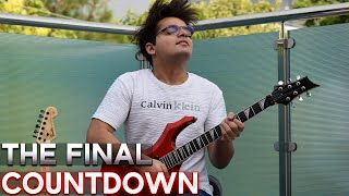 The Final Countdown - Europe - Electric Guitar Cover By Rafay Zubair