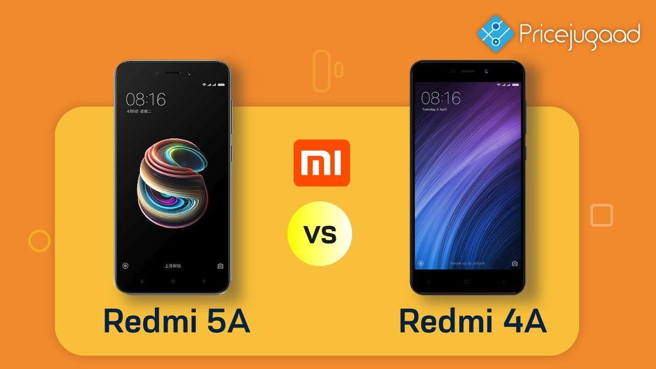 Redmi 5A vs Redmi 4A | Official Specs| Price| - YouTube