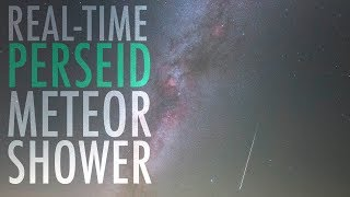 REAL-TIME PERSEID METEOR SHOWER - Aug. 9th 2018, Jura, France