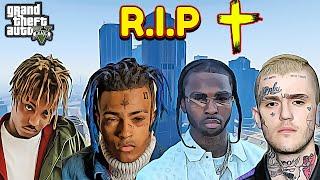 Rappers Death's Recreation in GTA 5 (XXXTentacion, Pop Smoke, Juice Wrld, Lil Peep)