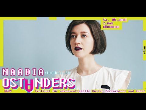 NAADIA russian indie-pop-music live @ OST ANDERS FESTIVAL 2019