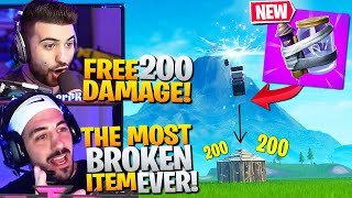 *NEW* JUNK RIFT! Most BROKEN Item EVER ADDED! (Fortnite Battle Royale Gameplay)