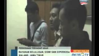Download Video Siswi SMK di Malang Diperkosa Saat Merayakan Kelulusan MP3 3GP MP4