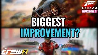 Forza Horizon 4 vs The Crew 2 || The Biggest Improvement? thumbnail