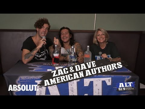 ALT Rocks Boston - American Authors Interview