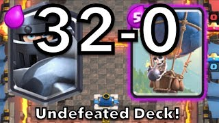 Clash Royale | UNDEFEATED Deck! | Mega Knight Balloon Deck!