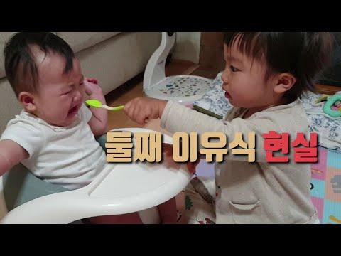 둘째 이유식 현실| 첫이유식|육아현실|육아브이로그|육아일상