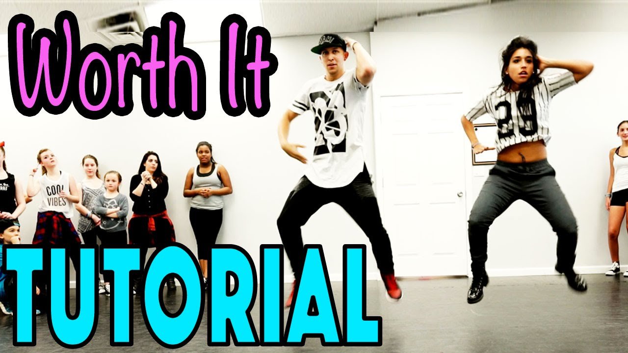 worth it fifth harmony dance tutorial mattsteffanina choreography intermediate hip hop youtube