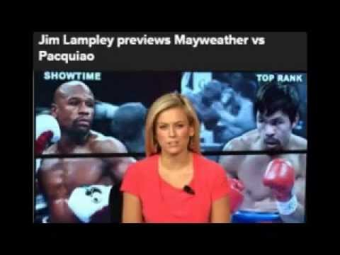 Manny Pacquiao Vs Floyd Mayweather News | CBSsports News | Jim Lampley Review | Boxing News