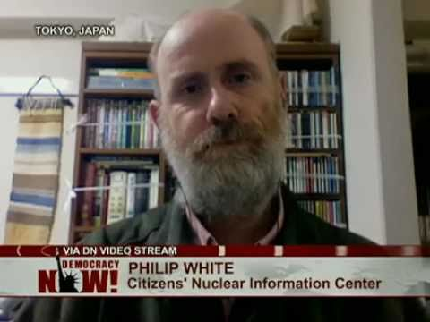 Philip White of Citizens' Nuclear Information Center Comments on Fukushima Radiation Leak Into Ocean