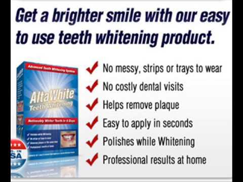 Alta White Teeth Whitening Products Alta White Teeth Whitening