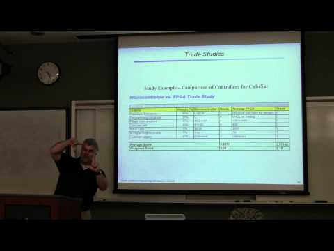 Introduction to Robotics Course -- Lecture 4 - Systems Engineering
