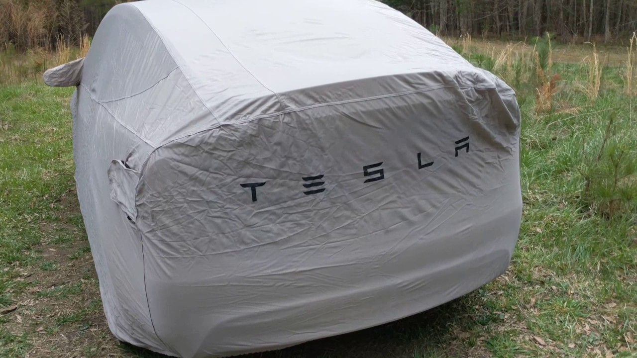 Tesla Model X Outdoor Car Cover Unboxing Youtube
