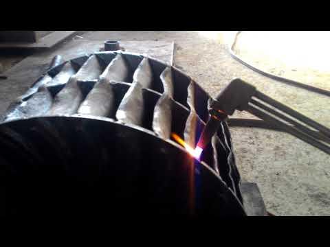 Cross Flow Runner Blades Repairing by Using Gas Torch