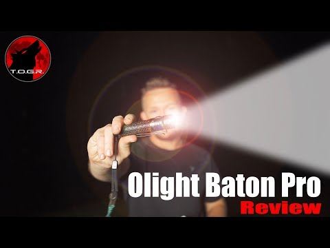 Small + Powerful But Not Perfect – Olight Baton Pro Review – EDC – 2,000 Lumens