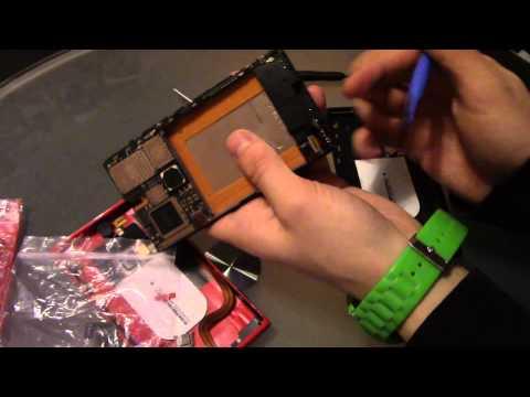 Nokia Lumia 920 Touchscreen wechseln, Akku wechseln und Gehäuse wechseln