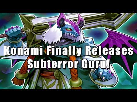 Konami Finally Releases Subterror Guru!