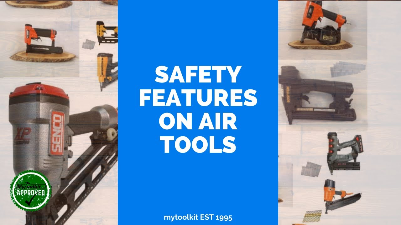 Staple and Nail Gun Safety Features - Explanation here! - YouTube