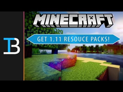 How To Download & Install Resource Packs In Minecraft 1.11