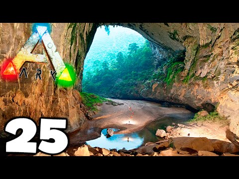 LUGAR OCULTO EN EL MAPA THE CENTER !! SUPER SECRETO EN ARK SURVIVAL EVOLVED MODS Makigames
