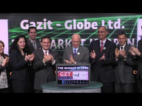 Gazit - Globe Ltd (GZT:TSX) opens Toronto Stock Exchange, February 24, 2014.