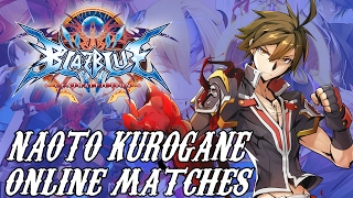 5 ranked matches with Naoto Kurogane. I don't play a lot of BlazBlu...