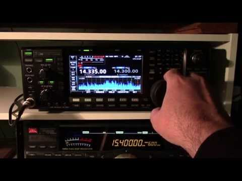 Icom IC-7600 First Time Power On
