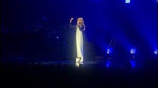 Download Lagu Celine Dion sings Ashes LIVE in  Las Vegas - Deadpool 2 Mp3