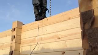 Строительство дома из профилированного бруса(, 2012-04-03T06:39:38.000Z)