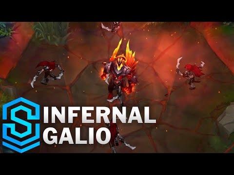 Infernal Galio Skin Spotlight - League of Legends