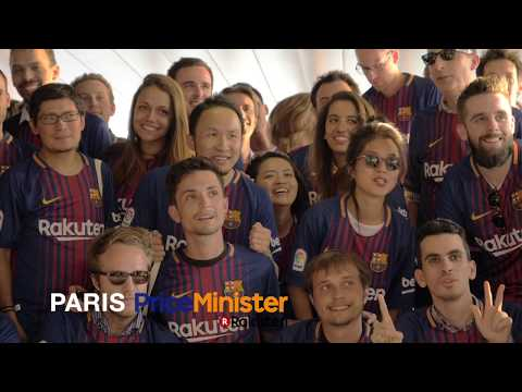 Rakuten Celebrates FC Barcelona Partnership in Europe