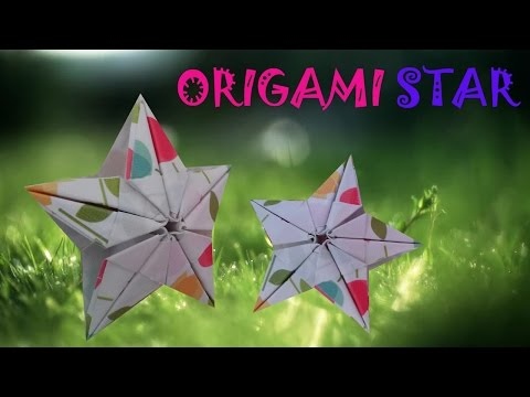 Origami 3D Star - Origami Easy