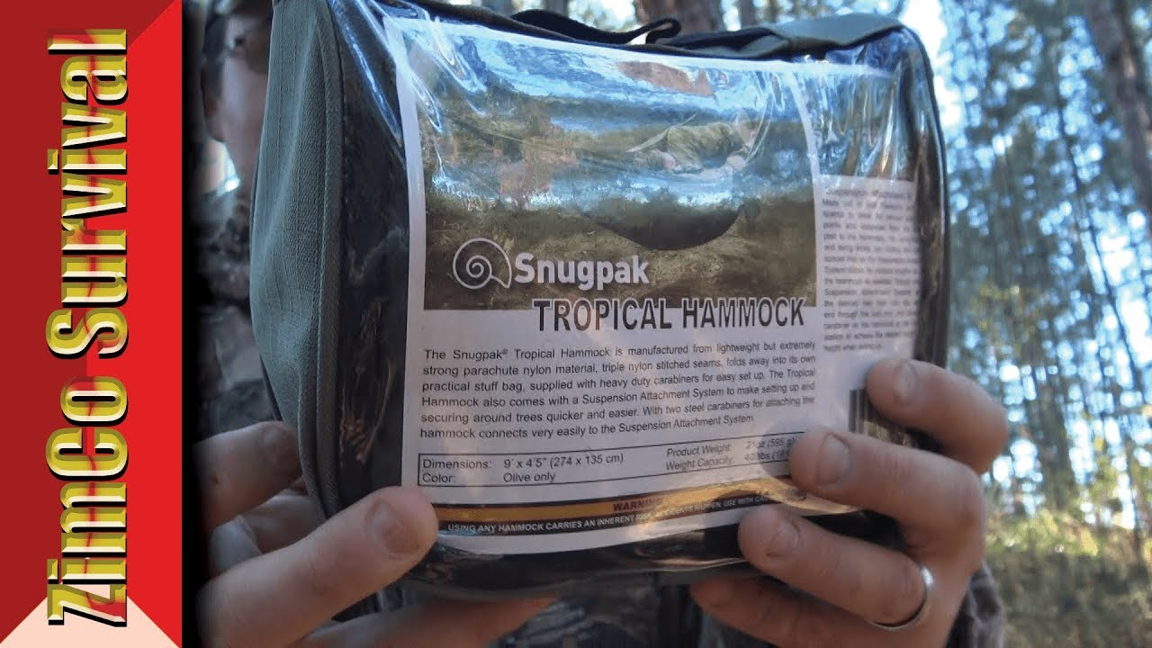 snugpak tropical hammock   the best hammock      review snugpak tropical hammock   the best hammock      review   youtube  rh   youtube