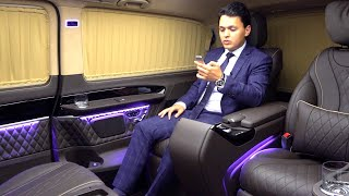 Mercedes V Class Limited Edition + VIP Long Luxury FULL Review Klassen Interior